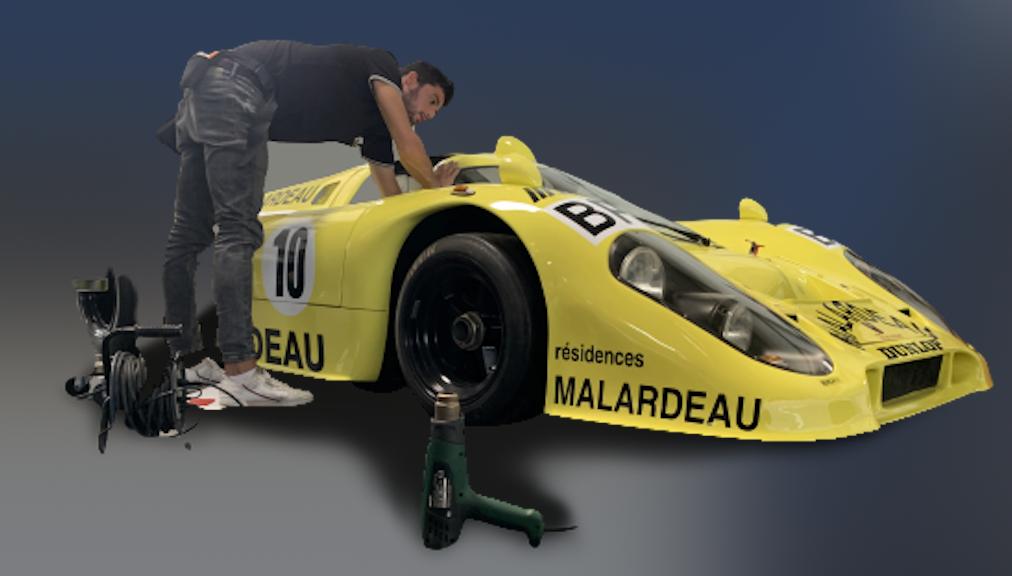 Marquage Porsche 917