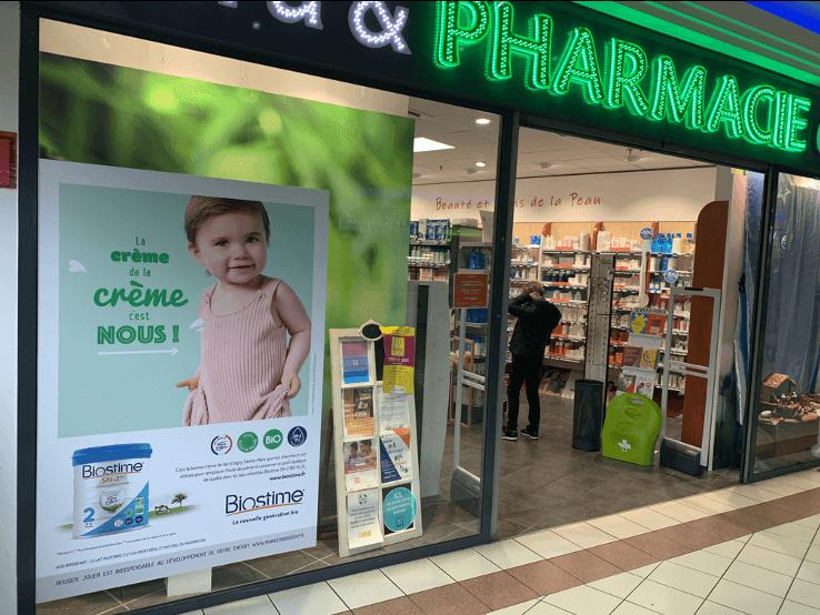 Communication pharmacies Biostime